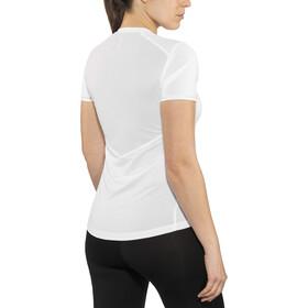 Salomon Agile Camiseta Manga Corta Mujer, white